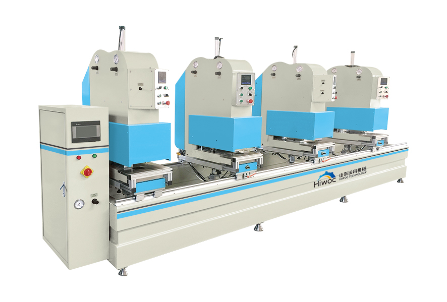 Four Heads Seamless Welding Machine
